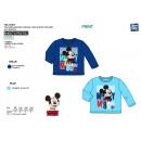 Mickey - Langärmeliges T-Shirt 100% Baumwolle