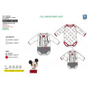 wholesale Other: Mickey - set 2 body 100% coton