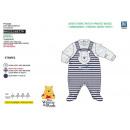mayorista Pijamas: WINNIE - dormir bien rayas 65% algodón / 35% polié