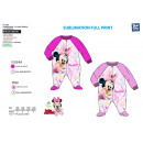 MINNIE - combinaison 100% polyester