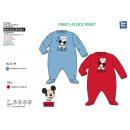 Großhandel Schlafanzüge: Mickey - Schlaf gut drucken 65% Polyester / 35% Co