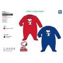 mayorista Pijamas: Snoopy - dormir bien imprimir 65% poliéster / 35%