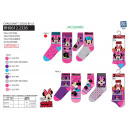 Minnie - pack 3 calcetines 70% algodón 18% polyest