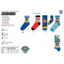 Paw Patrol - socks 70% cotton 18% polyester