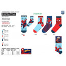 Spiderman - socks 70% cotton 18% polyester 1