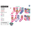 wholesale Licensed Products: Paw Patrol - pack 3 socks 70% cotton 18% pol