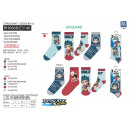 wholesale Socks and tights: BEYBLADE - pack 3 socks 70% cotton 18% poly