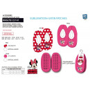 wholesale Fashion & Apparel: Minnie - 100% polyester slippers