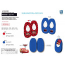 wholesale Shoes: Cars 3 - 100% polyester elastic slippers
