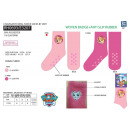 PAW PATROL - chaussettes 99% polyester / 1% elasth