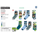 BEN 10 - pack 3 socks 70% cotton 18% polyest
