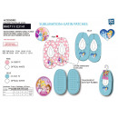 wholesale Shoes: Princess - 100% polyester slippers