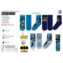 Batman - Terry Anti-Rutsch-Socken