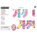 Princess - pack 3 socks 70% cotton 18% poly