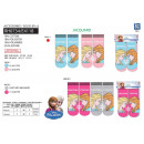 wholesale Socks and tights: frozen - pack 2 socks 70% cotton 18% polyest