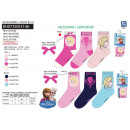 wholesale Socks and tights: frozen - pack 3 socks 70% cotton 18% polyest