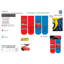 wholesale Socks and tights: Cars 3 - pack 2 socks 99% polyester / 1% ela