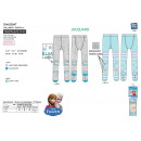 frozen - tights 70% coton / 25% polyester / 5% s
