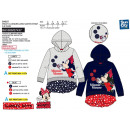 wholesale Licensed Products: Minnie - 65% polyester / 35% cotton hoodie