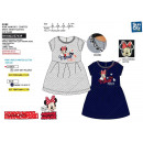 Minnie - 100% polyester short sleeve dress