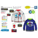 SPIDERMAN - sweat capuche zippe 65% polyester / 35
