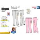 hurtownia Fashion & Moda: frozen - spodnie 95% bawełna / 5% elastan