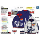 CARS 3 - sweat capuche zippe 65% polyester / 35% c