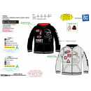 STAR WARS VIII - sweat capuche zippe 100% polyeste