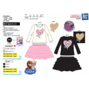 frozen - 2 piece set skirt & T-Shirt 65% poly