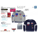 CARS 3 - sweat 65% polyester / 35% cotton
