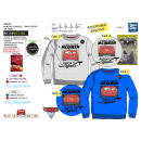 Cars 3 - 65% polyester / 35% cotton sweatshirt