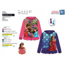 ELENA OF AVALOR - zipped hood sweatshirt 100% poly