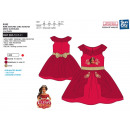 ELENA OF AVALOR - dress s / m back knot 100% polye