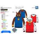Paw Patrol - zipped hood sweatshirt 100% polyester
