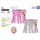 Princess : leggings sublimes 95% poliéster / 5% el
