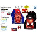 Spiderman - zipped hood sweatshirt 100% polyester