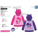 MY LITTLE PONY - sweat capuche 65% polyester / 35%