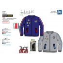 DC COMICS - Teddy Fleece 65% Polyester / 35% Kinde