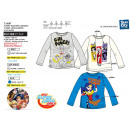 DC SUPER HERO GIRLS - t-shirt manches longues 100%