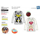 DC SUPER HERO GIRLS - T-Shirt manga larga 100%