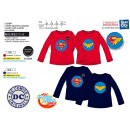 wholesale Licensed Products: DC SUPER HERO GIRLS - Long Sleeve T-Shirt