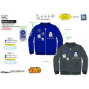 wholesale Coats & Jackets: Star Wars IV - 100% polyester bombers