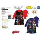 Avengers CLASSIC - 100% poly coral dressing gown