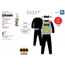 wholesale Toys: Batman - long pajamas with cape & mask 100%