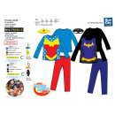 DC SUPER HERO GIRLS - pyjama & masque 100% coton