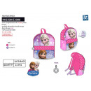 frozen - backpack 31x24x10cm 100% polyester