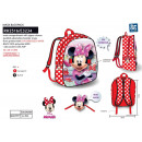 Minnie - backpack + mask 32x25x12cm 10