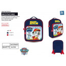 Paw Patrol - backpack 26,5x22x8cm 100% polyester