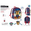 Großhandel Taschen & Reiseartikel: Paw Patrol - Rucksack + Maske 32x25x12cm 10