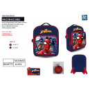 Spiderman - backpack 26,5x22x8cm 100% polyester
